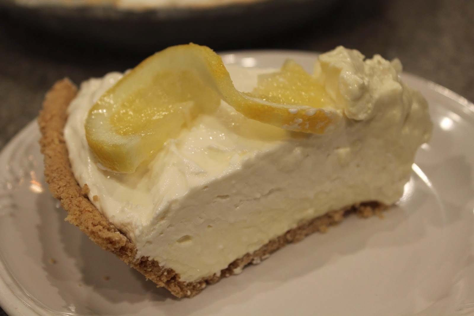 Ohio Thoughts~: Lemon Ice Box Pie
