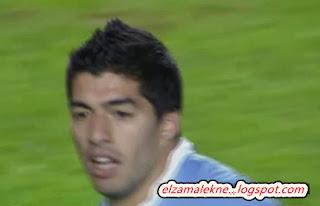 سواريز مهاجم ليفربول الأرجواني الدولي