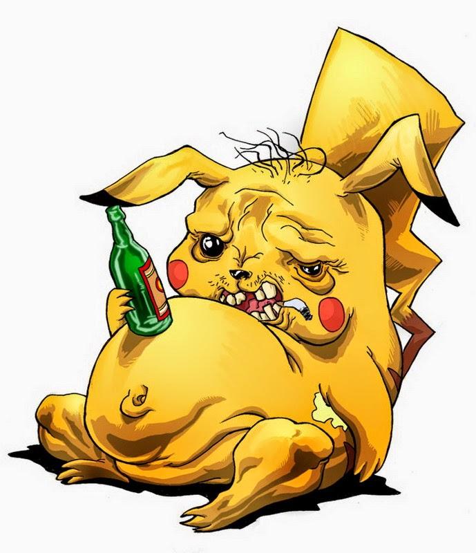 Imagenes de Humor : Pikachu Borracho
