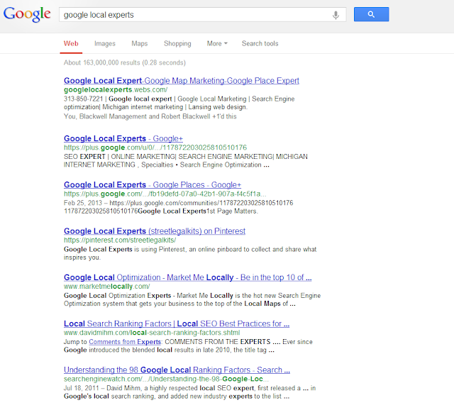 Google local marketing-Google Local Experts