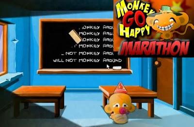Monkey Go Happy Marathon walkthrough.