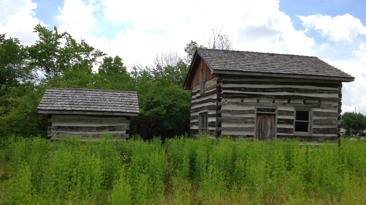 Ohio log cabin