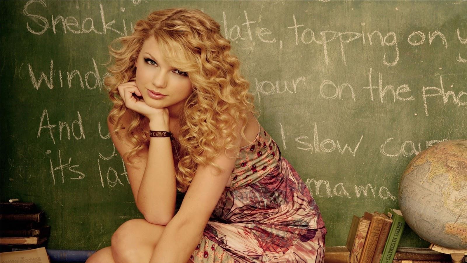 Taylor Swift Whiteboard Wallpaper