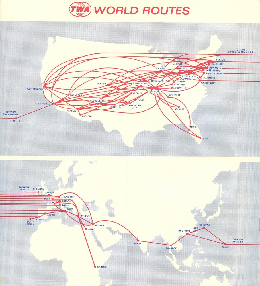 trip routes maps