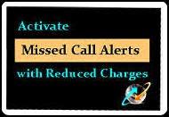 bsnl miss call alert tariff