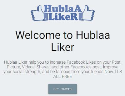 شرح موقع Hublaa لزيادة عدد اللايكات في الفيسبوك بعد التحديث الجديد