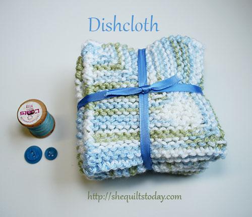 como hacer un dishcloth