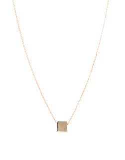 whistles square necklace