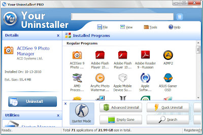 Your Uninstaller! Pro 7.5.2013.02