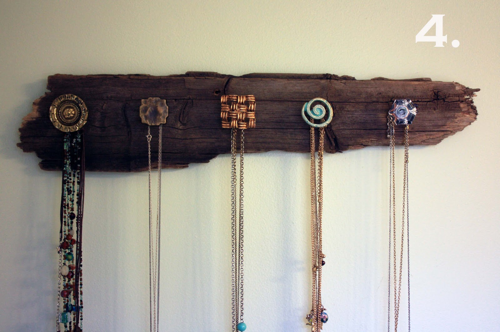 Diy Necklace Holder Visibly Moved Diy Necklace Holder
