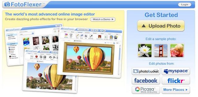 como editar imagens online