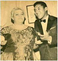 Leny Everson e Agostinho dos Santos