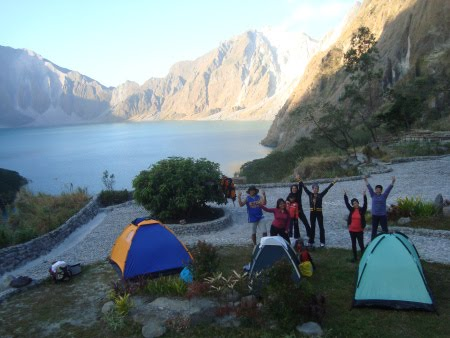 PINATUBO CRATER LAKE CAMPING