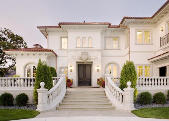 desain exterior rumah mewah