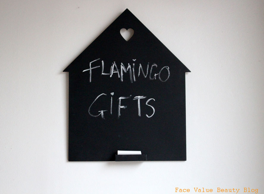 Happy Housewarming To Me From Flamingo Gifts!