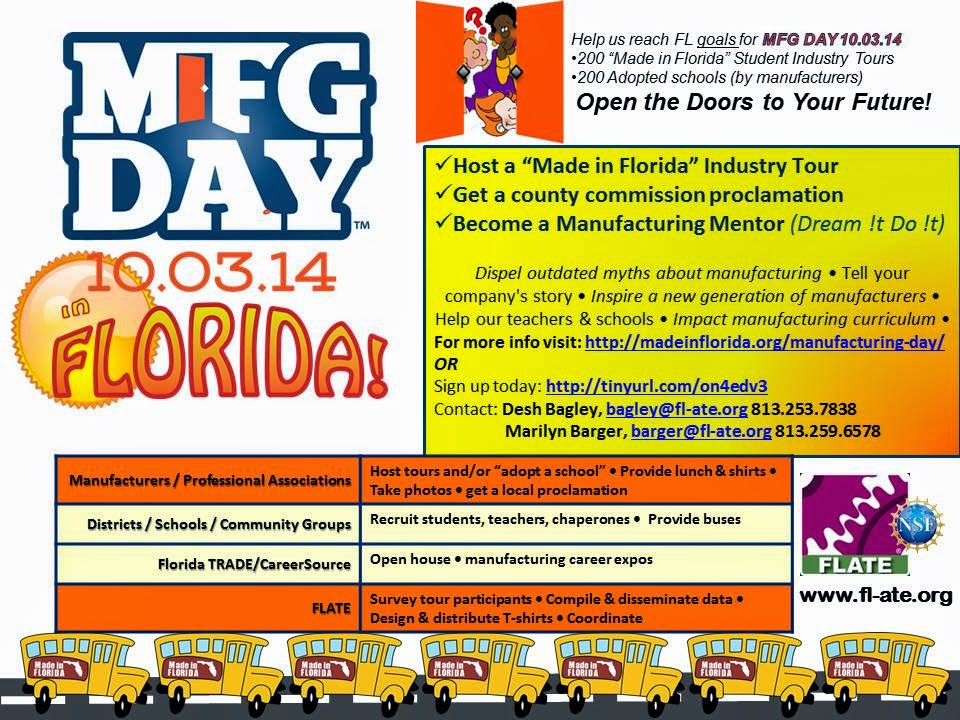 MFG Day in FL: Get In On the Action!