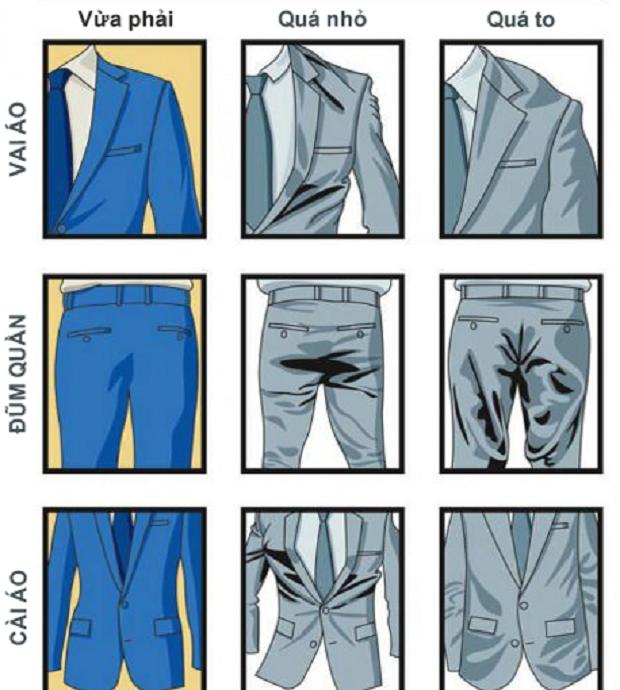 Cách mặc comple - veston 3