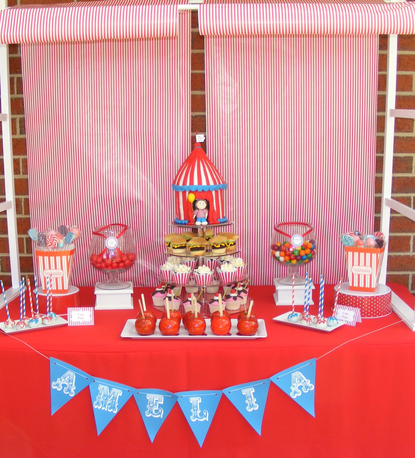 Chic N Sweet Candy Buffets By Junelle: Carnival Kids