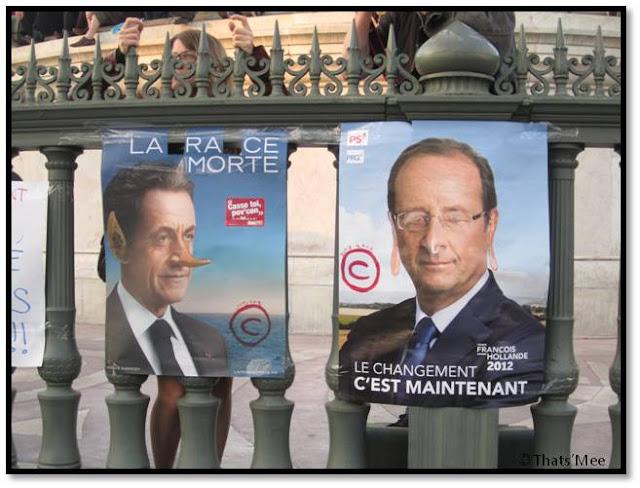 1er Mai - La Bastille Paris Sarko et Hollande