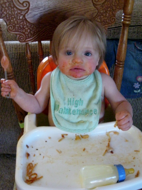 lesson spaghetti sauce stains baby clothes worse than adult clothes
