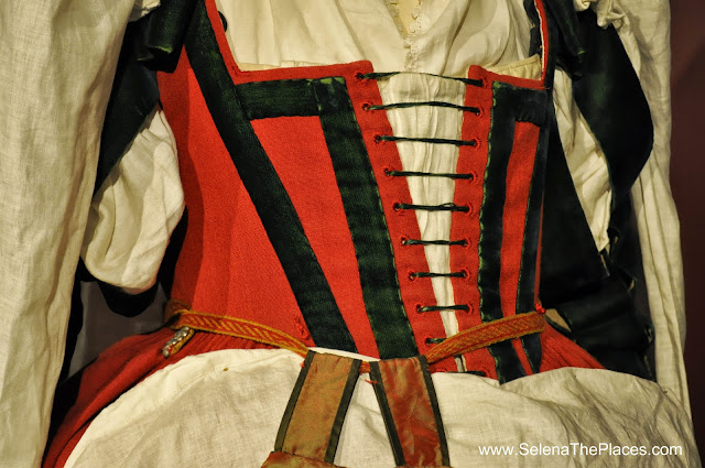 Costume Exhibition at Shakespeare's Globe London