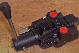 Hy-Pro V5 spool valve (rotary lever)