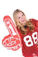Cute Sports Fan