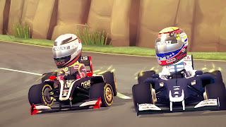 f1 race stars screen 1 F1 Race Stars   Screenshots