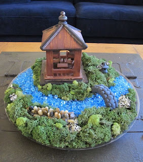 Wind rose fiber studio miniature japanese garden show for Creating a small japanese garden