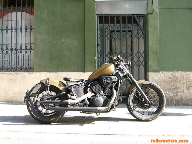 honda shadow bobber chopper custom