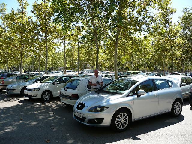 Бесплатная парковка рядом с историческим центром Жироны