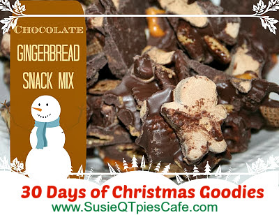 gingerbread snack mix recipe