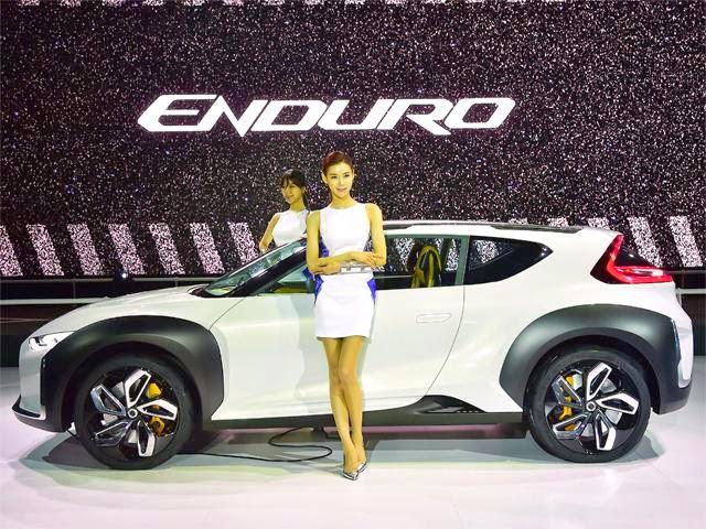 Eleghant Luxury Car Hyundai Enduro Concept 2015