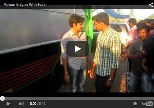 Pawan kalyan With Fans
