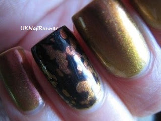 Ozotic 520 with OPI Black SpottedOzotic 520 with OPI Black Spotted