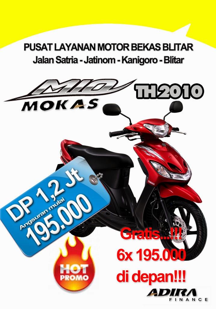 Kredit Motor Bekas Blitar type Matic Yamaha Mio