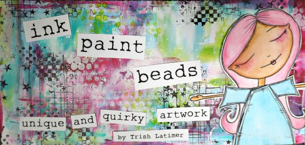 Ink,Paint, Beads