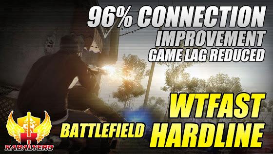 WTFast Battlefield Hardline Beta, 96% Connection Improvement, Game Lag Reduced