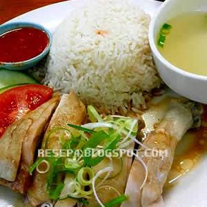 resep nasi hainan