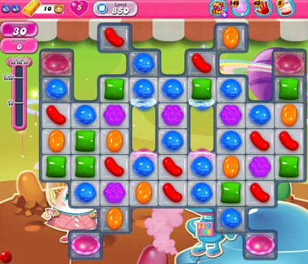 Candy Crush Saga 850