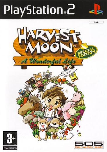 Download Harvest Moon A Wonderful Life Special Edition PS2 ISO Highly Compressed