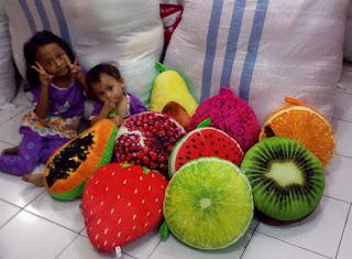 bantal buah bagus