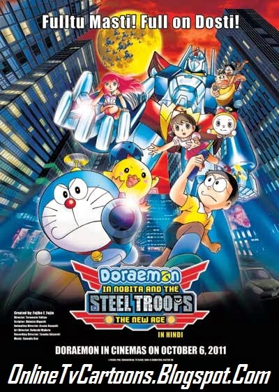 Doraemon in nobita and the steel troops full movie in hindi online