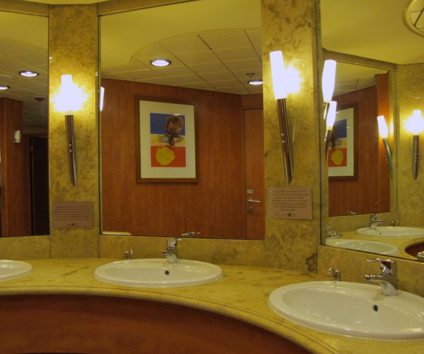 Inside The Men 39 S Public Restroom Near The Ship 39 S Theater In The Bow. April 2013 Jazz Toilet Jazz Toilet Public Bathrooms Near Me