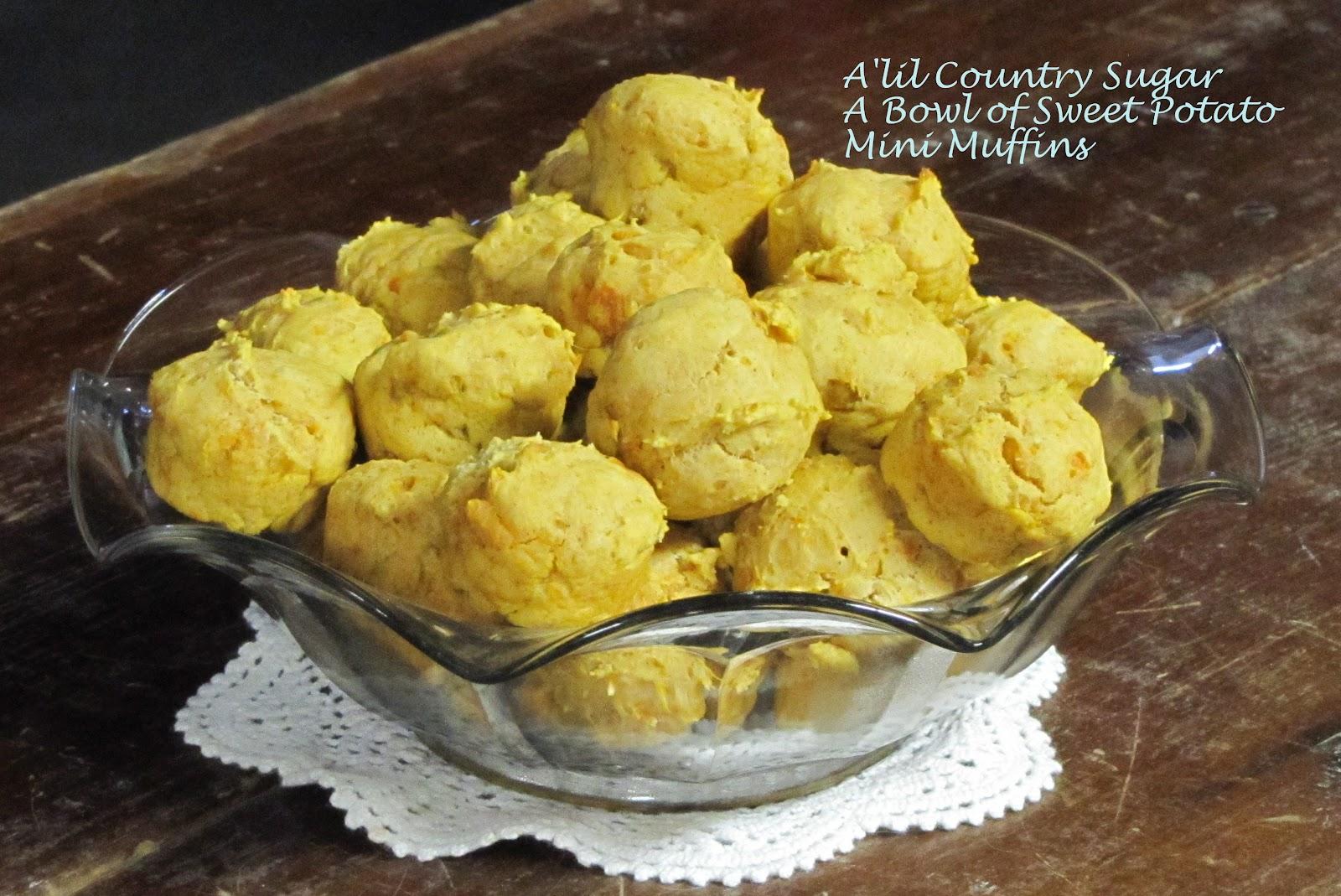 A'lil Country Sugar: Sweet Potato Minis