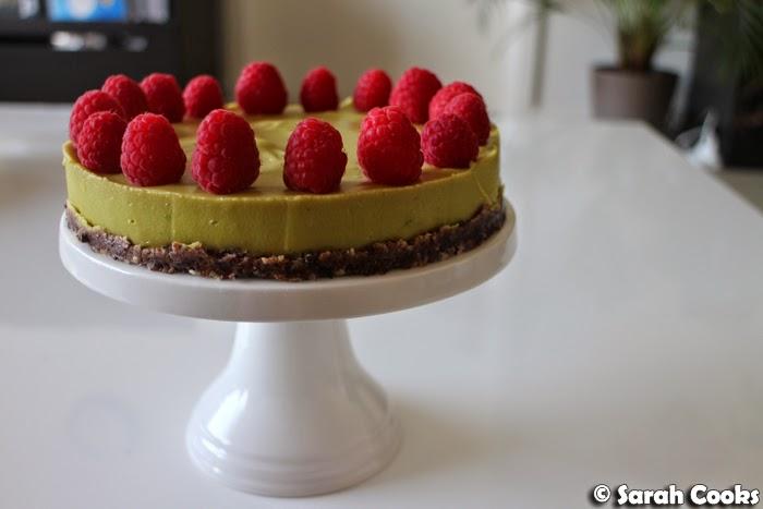 Sarah Cooks: Avocado and Lime Cheesecake (Gluten Free, Dairy Free ...