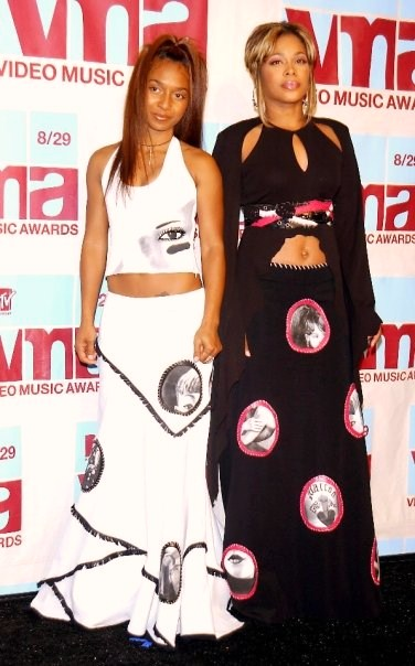 TLC At The MTV VMAs Video Music Awards In Honor Of