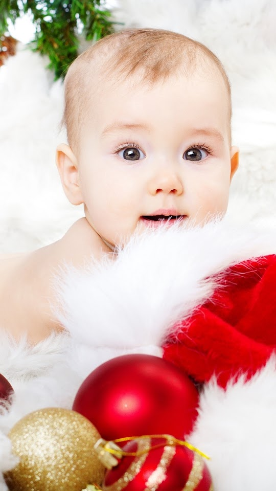 new year christmas baby galaxy note hd wallpaper