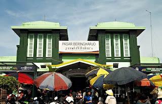 Pasar Beringjarjo Yogyakarta