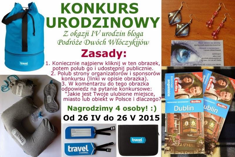 http://konkursywsieci.blogspot.com/2015/04/konkurs-z-okazji-iv-urodzin-bloga.html
